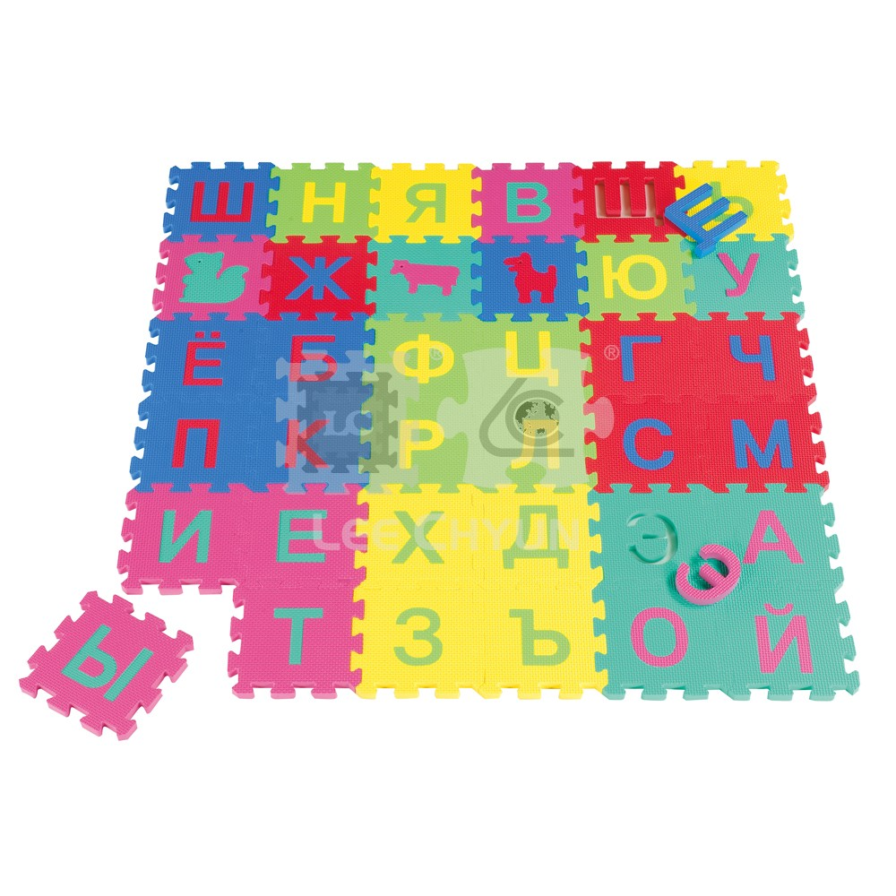 36 pcs russian letters foam play puzzle